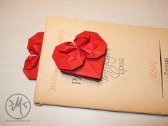 Minnies Welt. Kreatives DIY-Chaos.: Origami-Herz zum Muttertag