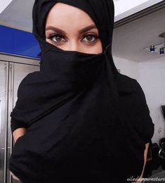 Gif - Arab shows her tits
