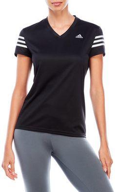 adidas Response Cap Sleeve Running Tee #hat #womens