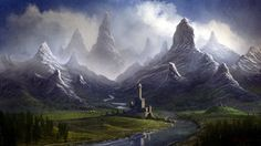 I guess this place doesn't exist. But I sure want to go there!   Twisted Mountain Valley by ~Balaskas on deviantART