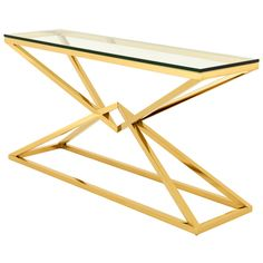eichholtz connor console table gold