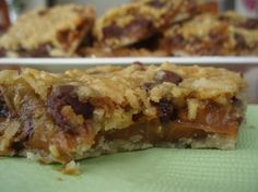 Potbelly's Sheila's Dream Bars Recipe. Made these for the office potluck and they were a HUGE hit. One coworker said they reminded her of cookie dough. A less dense (and less oily) version of the Potbelly original.