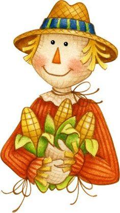 scarecrow printable art