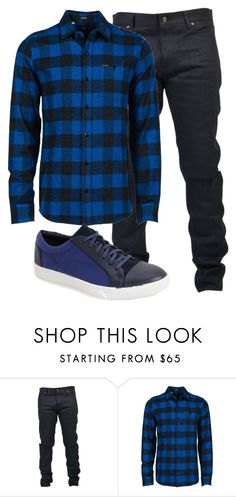 """""""Untitled #42"""" by iamaddad on Polyvore featuring Yves Saint Laurent, Volcom, Calvin Klein, men's fashion and menswear"""