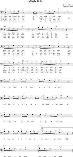 jingle bells lyrics pdf download