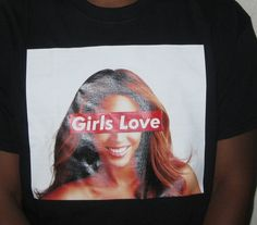 -- Introductory Offer --'Love Beyonc�'inspired by the Drake song and for all the Beyonc� lovers world wide!Sizes: Adult Small, Medium, Large and Extra-LargeShirts fit true to size