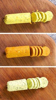 Manteigas saborizadas são fáceis e rápidas de fazer e ideais para comer com pão bem quentinho!