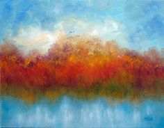 Original artwork from artist Marina Petro on the Daily Painters Gallery