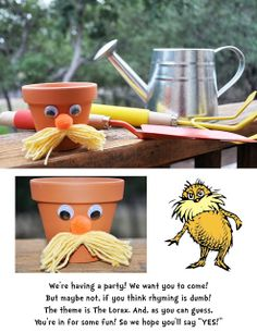 The Party Wall: The Lorax Party: Sneak Peek