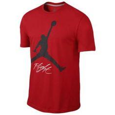 Jordan Flight Jumpman T-Shirt - Men's - Basketball - Clothing - Black/Gym Red. dex