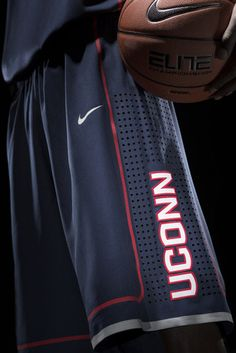 NIKE, Inc. - UConn Updates Visual Identity and new Uniforms for Huskies - basketball shorts
