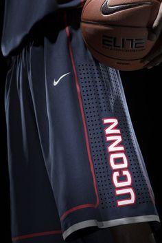 NIKE, Inc. - UConn Updates Visual Identity and new Uniforms for Huskies - basketball shorts