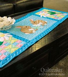 Easter Table Runner | Quilting | Pinterest | Runners, Tables and ...