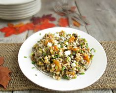 Hungry Couple: Wheatberry, Wild Rice & Butternut Squash Salad