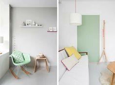 Minimalist #pastel room
