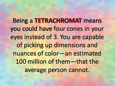 "I got: ""You probably have tetrachromatic vision!"" (10 out of 10! ) - If You Get 10/10 On This Twi..."