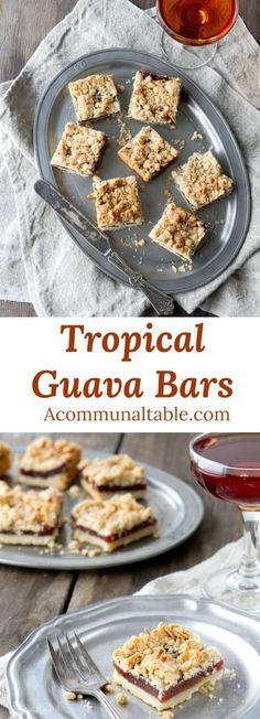 This Tropical Guava Bars Dessert Recipe Is Quick And Delicious. Guava Paste And Coconut Are The Secret For These Backyard Luau Favorites. A Perfect Fall Dessert Recipe Or Anytime Dessert Recipe Enjoy The Taste Of The Tropics With This Easy Dessert Recipe. Guava Bars Recipes, Best Dessert Recipes, Fun Desserts, Sweet Recipes, Delicious Desserts, Snack Recipes, Snacks, Asian Desserts, Simple Recipes