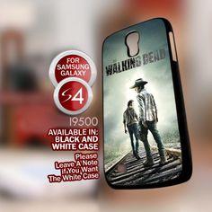 The Walking Dead Cover Movie - Samsung Galaxy S4 Black case