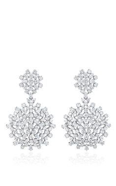 Mixed Diamond Cer Double Dangle Earrings By Paul Morelli For Preorder On Moda Operandi Jewellery