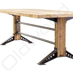 Here are the And Unique Industrial Table Design Ideas. This article about And Unique Industrial Table Design Ideas was posted … Industrial Stairs, Industrial Bedroom, Industrial Interiors, Industrial Farmhouse, Industrial Lighting, Industrial Chic, Farmhouse Stairs, Industrial Wallpaper, Industrial Closet