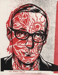 I look at William Burroughs by Charles Burns and Gary Panter
