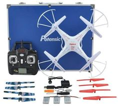RC Quadcopter, Potensic Premium Upgraded Syma RC Drone CH 6 Axis Gyro Quadcopter with Additional Spare Parts and Carrying Case – Gadgets For Your Home Unique Gifts For Boyfriend, Gifts For Boys, Boyfriend Gifts, Drone Quadcopter, Drones, Rc Drone With Camera, Phantom Drone, Remote Control Drone, New Drone