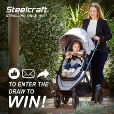 Win our brand NEW Steelcraft™ Strider Compact™ Deluxe Edition