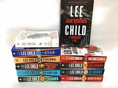 Lee Child Jack Reacher Series Big Lot of 11 Book Set Thrillers