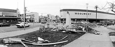 Here is the corner of Smith and Knuckey Street on the 28 Dec just 3 days after Cyclone Tracy. Photo by Ramon Williams Darwin, Corner, Xmas, Street View, Australia, History, Life, Historia, Christmas