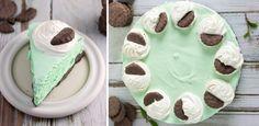 Miętowy sernik na zimno - lekki deser bez pieczenia