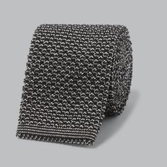 The One Tie That Goes with Every Dress Shirt You Own | Silk Knit Tie