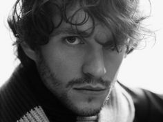 Hugh Dancy drives me nuts with those eyes, curly hair, and scruff. Ditto