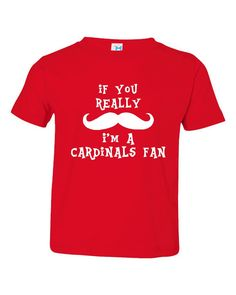 034805680893 Funny If You Really Mustache I m A Cardinals fan Tshirt Great Shirt for Arizona  Cardinals fans Funny Cardinals fan TShirt Great Gift Idea