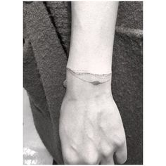 Pin for Later: 30 Tiny, Chic Wrist Tattoos That Are Better Than a Bracelet Permanent Bracelets