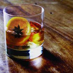 new fashioned 1 part knob creeka bourbon a½ part amaretto a¼ part