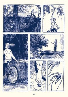 This One Summer - illustrations by Jillian Tamaki. Comic Manga, Comic Art, Comic Book, Bd Comics, Marvel Comics, Art And Illustration, Comic Illustrations, Art Sketches, Art Drawings