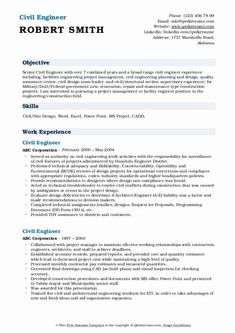 Civil Engineer Resume Examples Best Of Civil Engineer Resume Samples Nursing Resume Template, Resume Template Examples, Student Resume Template, Good Resume Examples, Civil Engineer Resume, Mechanical Engineer Resume, Mechanical Engineering, Simple Resume Format, Best Resume Format