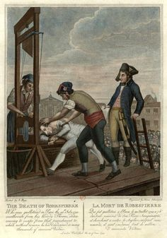 execution of Robespierre.