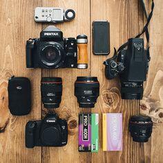 inside my camera bag - Wedding Photographer - Gene Pease -Shotkit