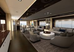 sunseeker 155 Yacht Interior