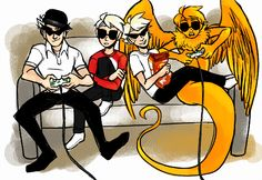 All the Striders - Homestuck