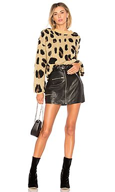 0ee3d46472 Shop for House of Harlow 1960 x REVOLVE Lawrence Sweater in Leopard at  REVOLVE.