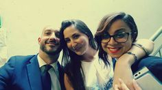 Al nostro Dimitris mancavano le sue colleghe.   Power team #milanoscala!
