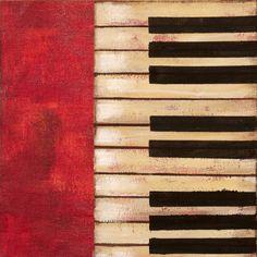 Piano Keys Print by Hakimipour-Ritter at eu.art.com