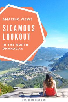 The Sicamous Lookout offers spectacular views of Sicamous, Shuswap Lake, and Mara Lake. This is perfect for an afternoon adventure for everyone. Enjoy a short back road drive before finding the panoramic views of the North Okanagan-Shuswap. This is a perf Oh The Places You'll Go, Cool Places To Visit, Back Road, Countries Around The World, Best Hikes, Canada Travel, Amazing Destinations, Columbia Road, British Columbia