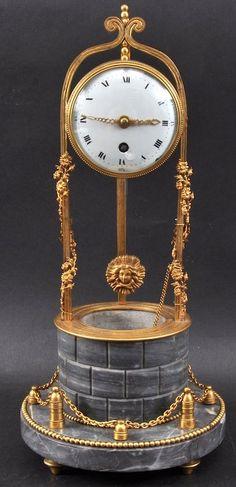 A Very Good Louis XVI Bronze And Ormolu Mantle Clock By Raingo Fres A Paris.