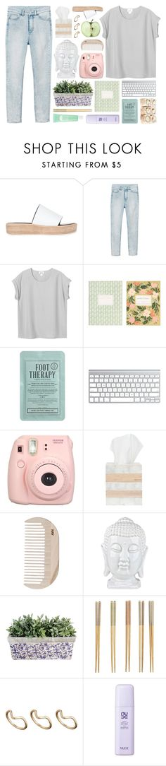 """""""time after time"""" by felicihty on Polyvore featuring Tony Bianco, Monki, RIFLE, Kocostar, Fujifilm, Pigeon & Poodle, HAY, Crate and Barrel, ASOS and Origins"""