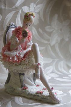 Porcelain Keiko Lace Doll
