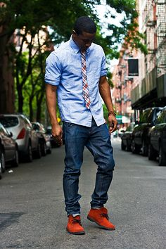 Something I would definitely try on... Urban gent street style.