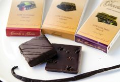 Amore di Mona Sampler with European style cookies, chocolate and chocolate covered caramels. #vegan